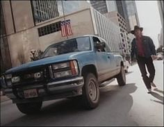 This is the Blue Chevy truck from Season 1 of Walker, Texas Ranger. Later seasons were much better once the Dodge Ram became Walker's main vehicle.