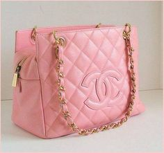 Chanel bag pink Bolsa rosa Chanel