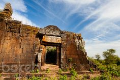 Cambodian temple ruins of Phnom Chisor | Takeo Province, Cambodia