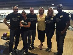 Our staff went bowling with Mayor Wolcott recently.