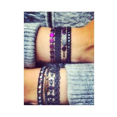 One is never enough 😉😘😘 #jewelicious_lovemade #handmadejewelry #bracelet #armcandy #macrame #semipreciousstones #ootd #fashionjewelry #glamrock #bohochic #supermom
