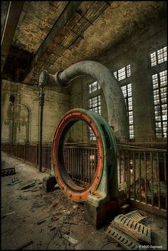 Industrial Beauty - Abandoned Building