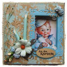 pipserier: Mit første Peek-a-Boo card. Peek A Boos, Scrap, Torsdag, Frame, Cards, Home Decor, Picture Frame, Decoration Home, Room Decor