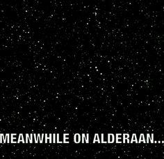 Meanwhile on Alderaan...