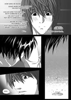 Death Note Doujinshi Page 37 by Shaami on DeviantArt