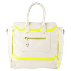 love the yellow piping! HIPPS - handbags's shoulder bags & totes for sale at ALDO Shoes.