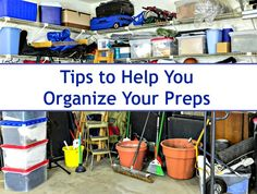 Organizing your preps can be a challenge, especially if you live in an apartment or smaller home. Although I do not consider myself an expert, here are some of the tips that I use to make storing and finding my