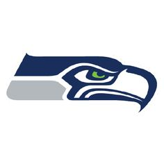 Seattle Seahawks Decals Set of 2 Cornhole Board Decals 8 inch