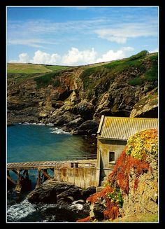 Lizard point, Cornwall England:  Even in the winter it was lovely