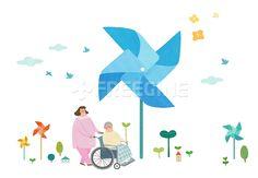 사람, 행복, 오브젝트, 글로벌, 일러스트, tendance, 노인, 풍향기, 복지, 봉사, 상상, 사랑, socialwelfare, 캐릭터, 따뜻함, 나눔, 에프지아이, 따뜻한세상, 따뜻한세상006, PAI118, PAI118a, PAI118_006, 일러스트, illust, illustration #유토이미지 #프리진 #utoimage #freegine 19437017