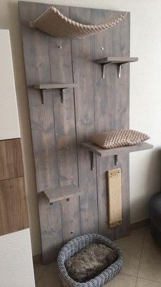 35 best cat wall furniture images cat playground diy cat tree rh pinterest com