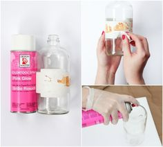 DIY jarrón degradé en 10 minutos | La Garbatella: blog de decoración, estilo nórdico.
