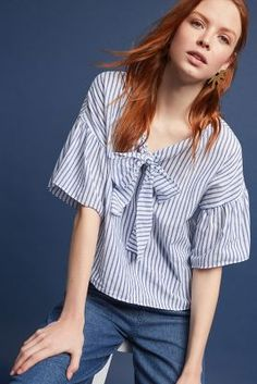 Shop the Addie Tie-Neck Blouse and more Anthropologie at Anthropologie today. Read customer reviews, discover product details and more.