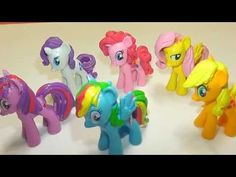 Play Doh My Little Pony Friendship is Magic Dolls by Disney Toys (My Little Pony 2014)