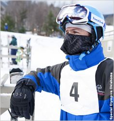 Multitalented Athlete Takes Slopes at Winter Special Olympics.  (Special Olympics Oklahoma)