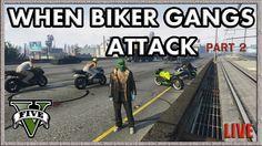 GTA V When Biker Gangs Attack #GTAV http://onlinetoughguys.com/gta-5-online-when-bike-gangs-attack-part-2/