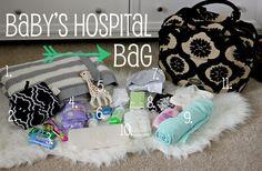 Natalie Darling Blog: Baby Hospital/Diaper Bag