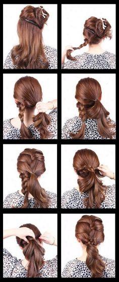 LOLO Moda: estilos de cabelo das mulheres da moda 2013. Anyone want to help me do this?