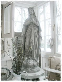 statue of Mary, presumed mother of god