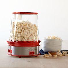 Cuisinart Easy Pop Plus Popcorn Maker -- love the retro look   #williamssonoma