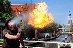 Fire, vuurspuwer, Alkmaar, Kaeskoppenstad, Kaaskoppenstad,