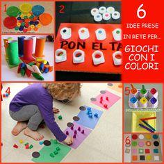 6 idee prese in rete per... giochi con i colori