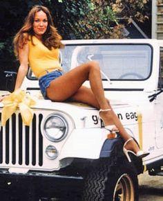 1980 Jeep CJ7 a la Daisy Duke!