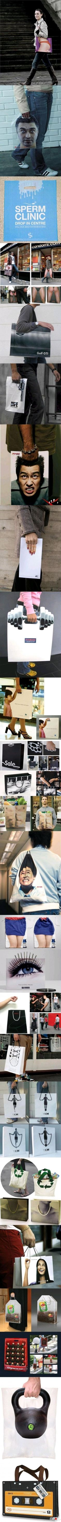 The Best Funny Pictures GIF and MEMES about Funny Pictures - Epic shopping bags. Best MEME and GIFS about Funny Pictures - Epic shopping bags and Funny Pictures Illusion, Funny Jokes, Hilarious, It's Funny, Retail Bags, Best Funny Images, Creative Bag, Picture Blog, Photo Images