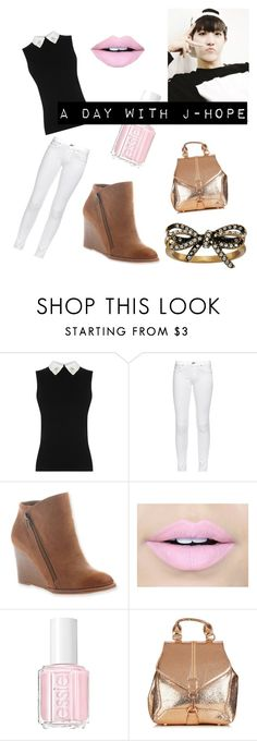 """One day with J-Hope"" by ardenlynn-love ❤ liked on Polyvore featuring rag & bone, Hokus Pokus, Fiebiger, Essie and Marc Jacobs"