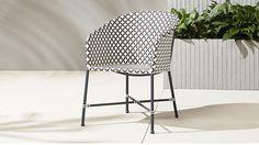 bulkier option. brava dining-lounge grey wicker chair