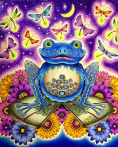 Enchanted Forest The Frog