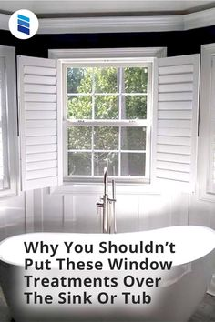 Tub and sink windows are exposed to more moisture than most other windows. Woven Wood Shades, Bamboo Shades, Bathroom Window Treatments, Bathroom Windows, Shoji Screen, Cellular Shades, Faux Wood Blinds, Mini Blinds, Roller Shades