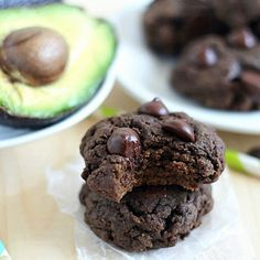 Double Chocolate Avocado Cookies Recipe on Yummly