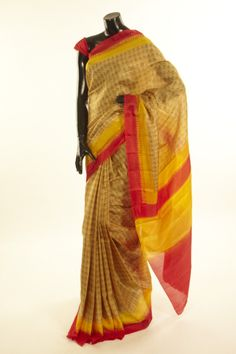 silk dry olive green saree with blouse