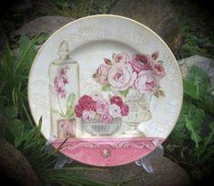 TUTORIAL-----Декупаж тарелок: мастер-класс по декорированию