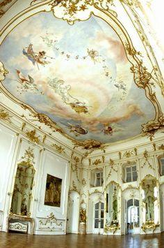 Interior of House of Esterházy, Hungary