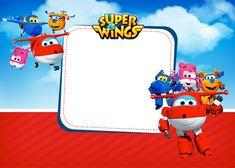 Convite festa Super Wings