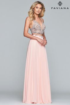 dcbff875b6255 Faviana Glamour S10244 Chic Boutique: Largest Selection of Prom, Evening,  Homecoming, Quinceanera