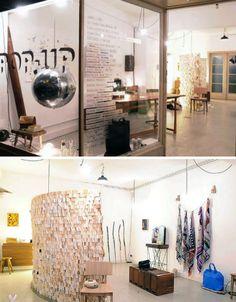 Atelier Solarshop Made of Recycled materials Antwerp, Belgium