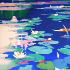 Lillies Afloat by Tadashi Asoma