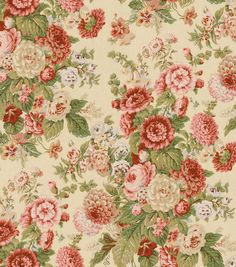 Joanns Fabrics- Home Decor Print Fabric-Waverly Sitting Pretty Antique