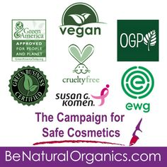 Here's a list of organizations Be Natural Organics has worked closely with as we provide cruelty-free organic skin care safe for you and the environment. A big thank you to the Environmental Working Group's SkinDeep, PETA's Beauty Without Bunnies Program, One Green Planet, The Campaign for Safe Cosmetic and so many more! #BeNaturalOrganics #OrganicSkinCare #Vegan #GreenBeauty #Environment #Organic #SkinCare
