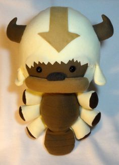 Flying Bison Plush Legend of Korra Avatar by JanellesPlushies