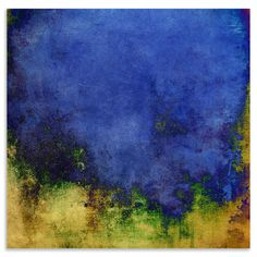 Luxury Canvas Collection - Azure, Printed Canvas, 40x40cm | ACHICA