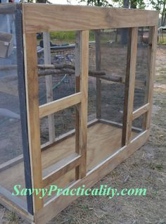 how to build a birdcage out of pvc