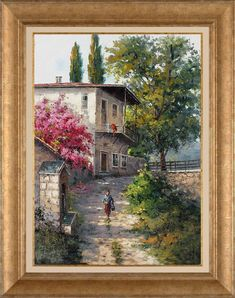Original oil painting on canvas – gül Derya – Join in the world of pin Collage Landscape, Landscape Paintings, Oil Painting On Canvas, Canvas Art, Bob Ross Paintings, Nature Drawing, Turkish Art, Cool Art Drawings, Beautiful Artwork