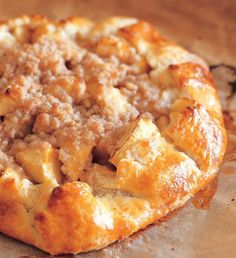 INA GARTEN Barefoot Contessa - Recipes - Apple Crostata - Not difficult to make as the crust is prepared in a food processor. Brownie Desserts, Fall Desserts, Just Desserts, Dessert Recipes, Health Desserts, Drink Recipes, Food Network Recipes, Food Processor Recipes, Cooking Recipes