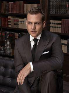 Gabriel Macht as Harvey Specter Serie Suits, Suits Tv Series, Suits Tv Shows, Gabriel Macht, Harvey Specter Anzüge, Trajes Harvey Specter, Best Dressed Man, Sharp Dressed Man, Suits Season 6