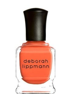 Expect to see fierce orange on my mani/pedi for our trip :)