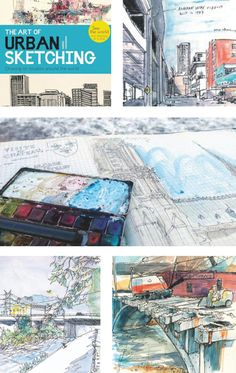 Cool interiors from The Art of Urban Sketching, one of our #pr books.